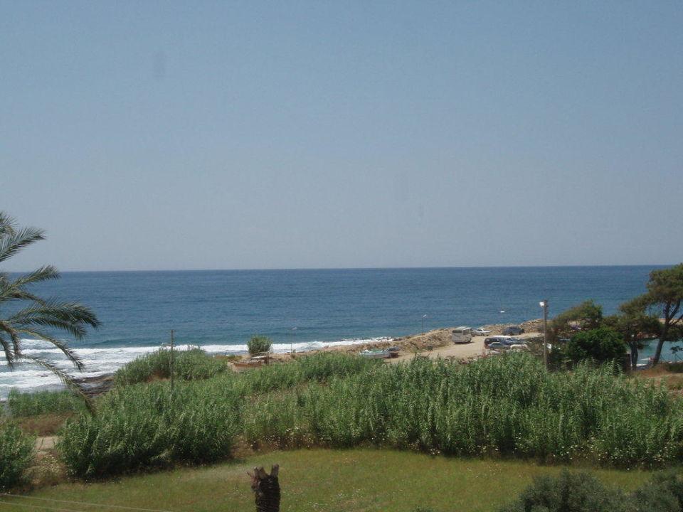 Blick zum Strand vom Hotel My Kolibri Hotel  (Vorgänger-Hotel – existiert nicht mehr)