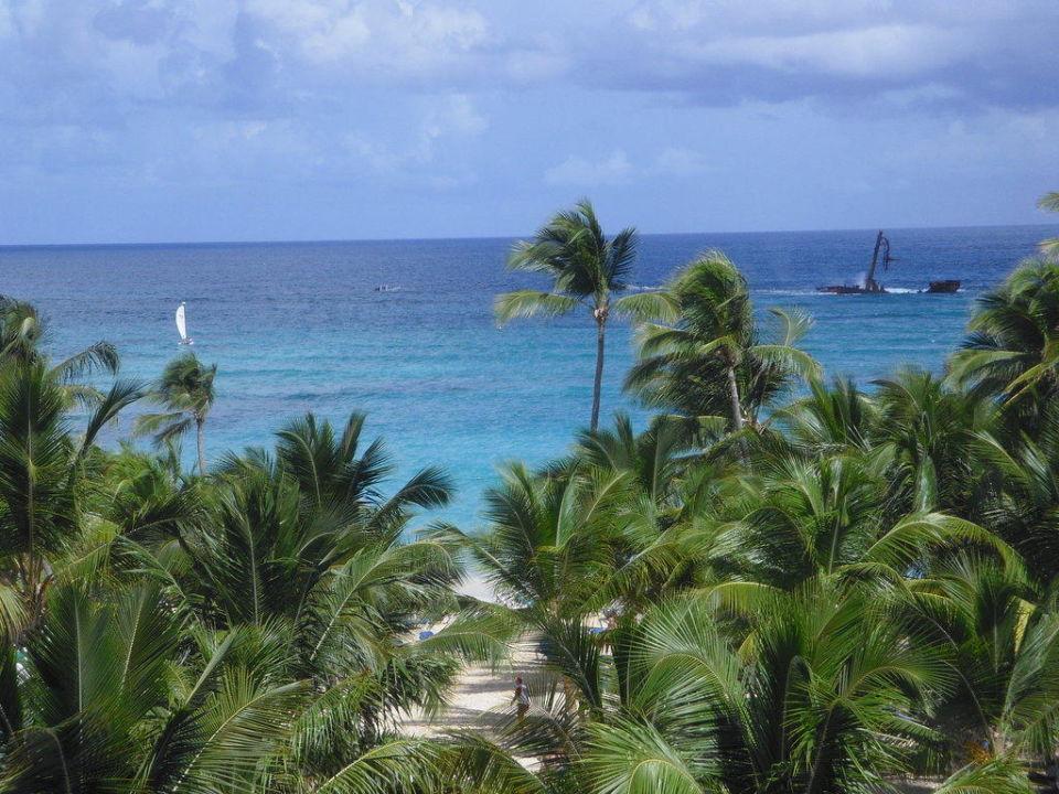 Meersicht von oben Hotel Riu Palace Punta Cana