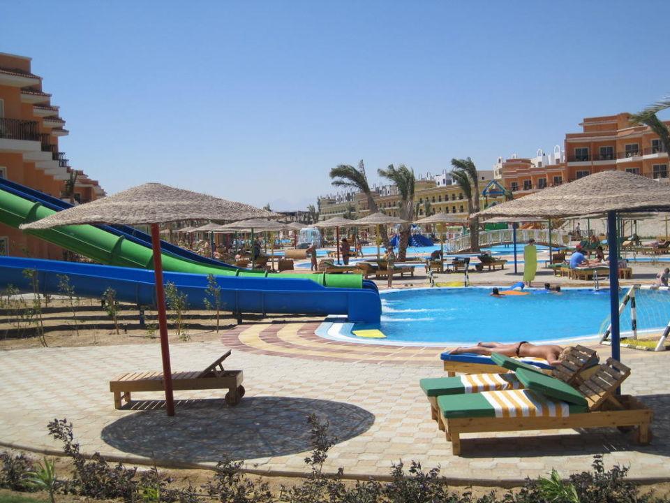 Rutschen und Pool Hotel The Three Corners Sunny Beach Resort