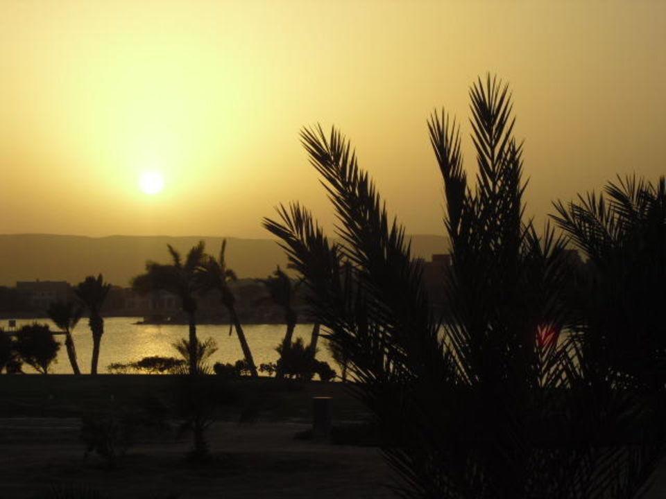 Sonnenuntergang Arena Inn Hotel, El Gouna (Vorgänger-Hotel - existiert nicht mehr)