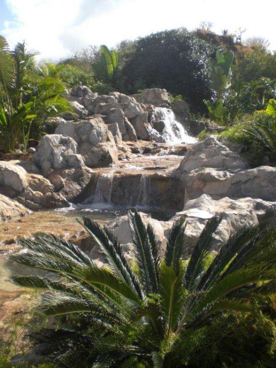 Mit Wasserfall Hotel Las Aguilas