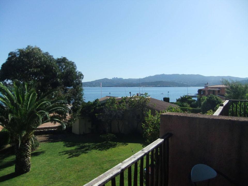 Blick aus dem Fenster Blu Hotel Laconia Village