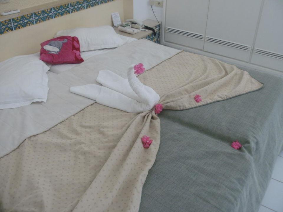 Bettdekoration Hotel Seabel Aladin Djerba