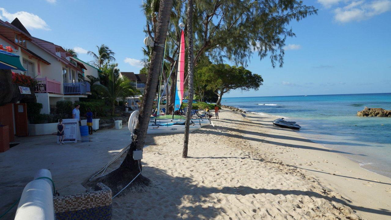 Strandbereich direkt vor der Anlage Hotel Crystal Cove