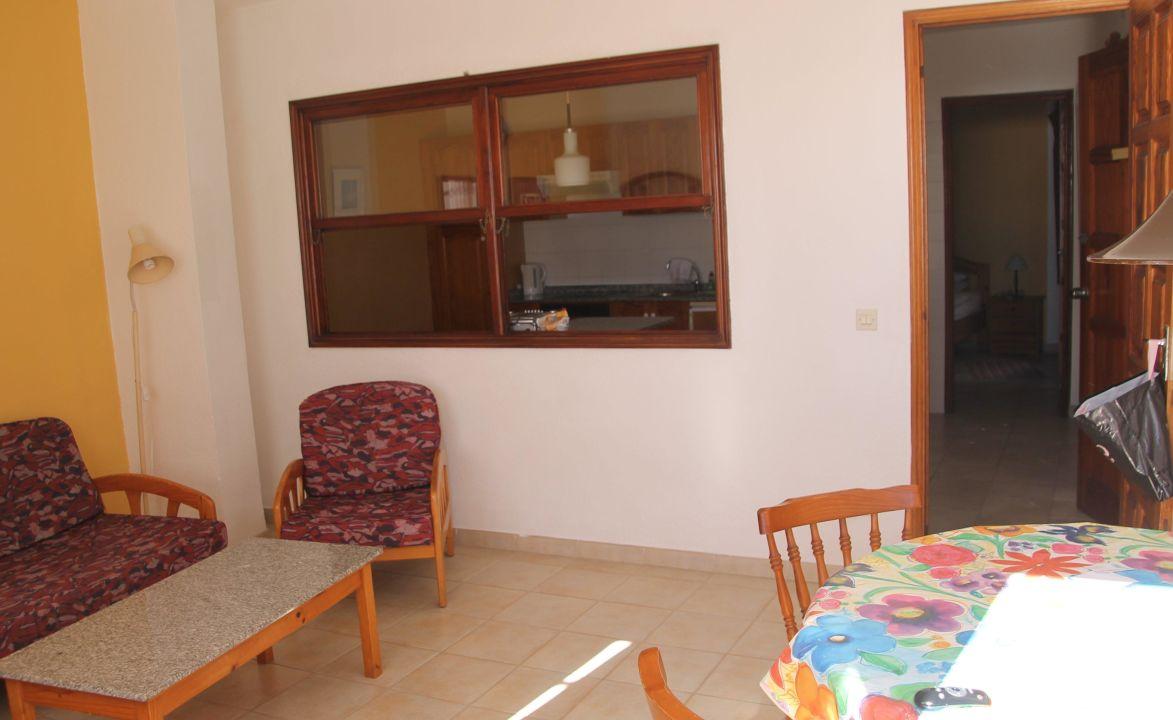 Blick zur Küche Hotel La Fuente