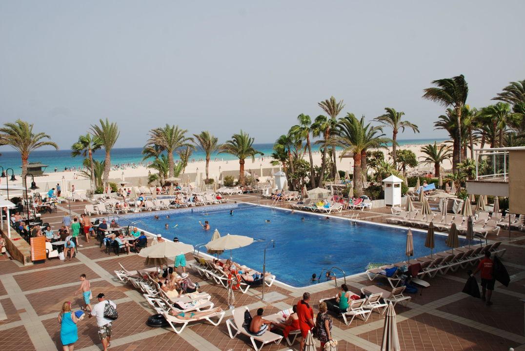 Pool haupthaus hotel riu oliva beach village for Riu oliva beach village