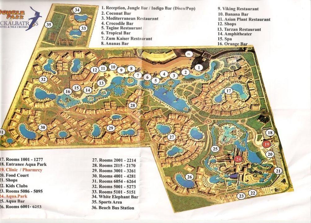 Hotel Plan Jungle Aqua Park Hurghada Holidaycheck Hurghada