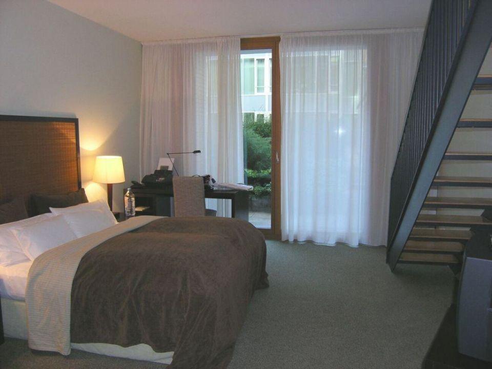 Maisonettesuite / Schlafzimmer m. Treppe Clipper City Home