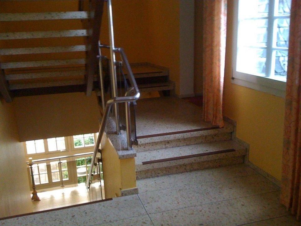 Treppenhaus nicht barrierefrei Romantik Hotel Fritz am Brunnen