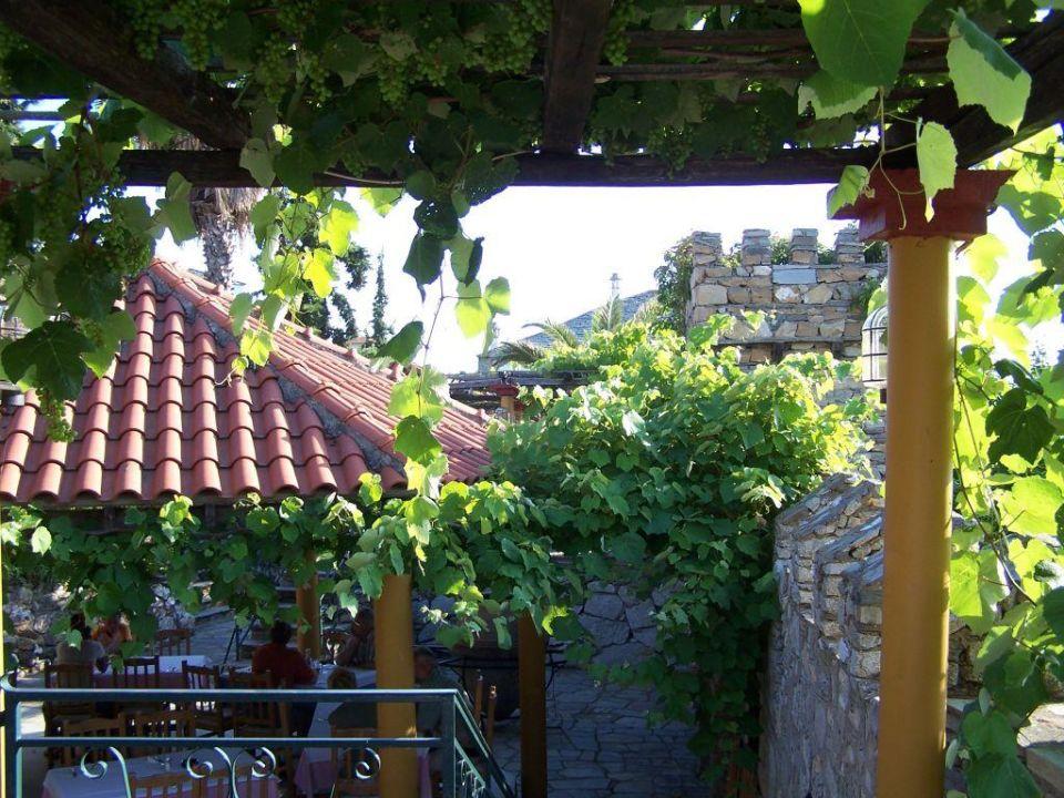 hier zu Abend gegessen Hotel Geranion Village