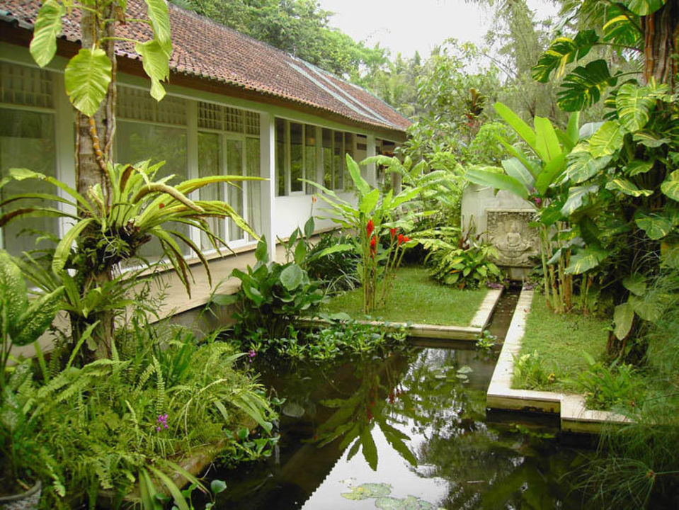 Garden view Jiwa Damai Retreat Bali