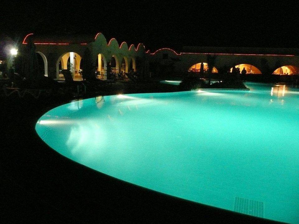 Pool bei Nacht Club Lookea Salammbo