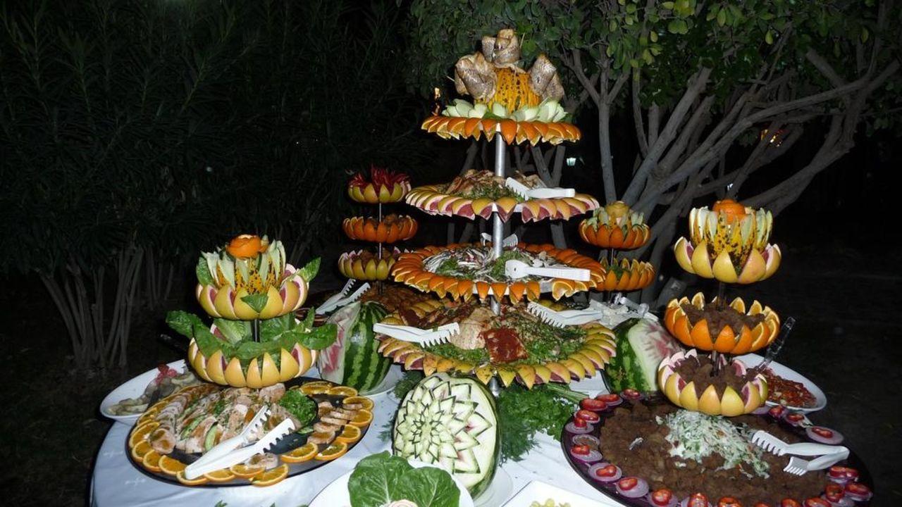 Obstbuffet beim Oktoberfest Hotel Terrace Beach Resort