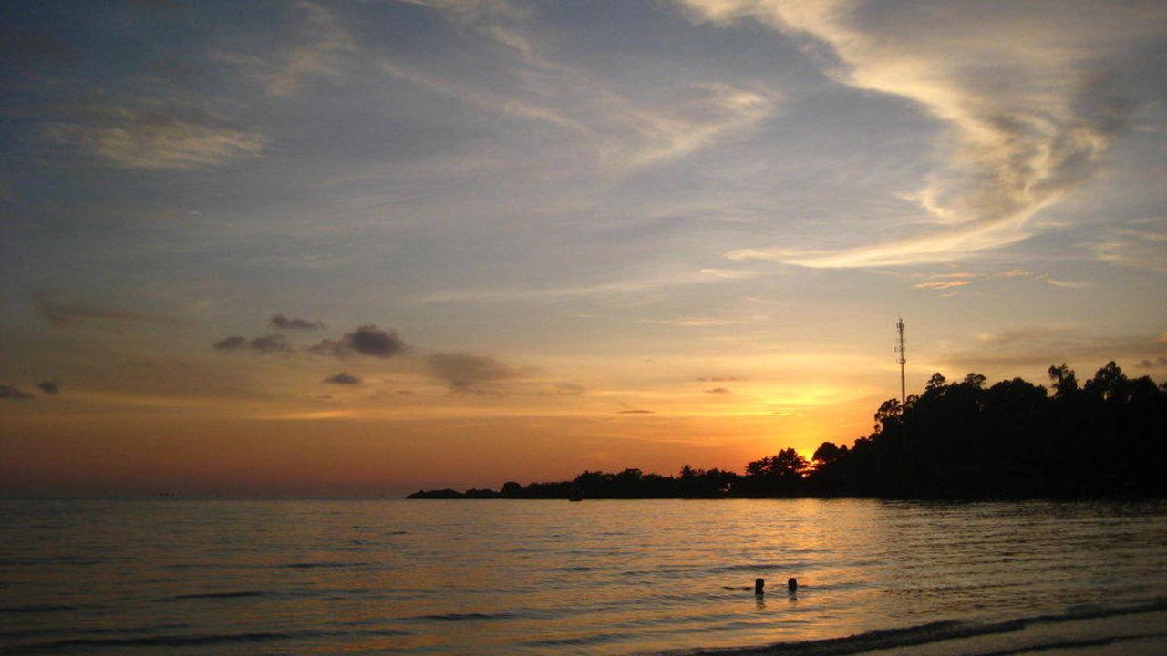 Sonnenuntergang Hotel Koh Chang Paradise Resort