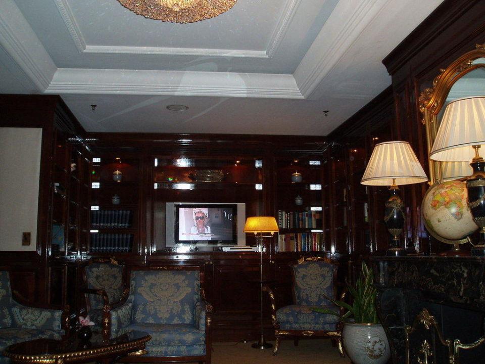 Wohnzimmer Der Club Lounge The Ritz Carlton Berlin