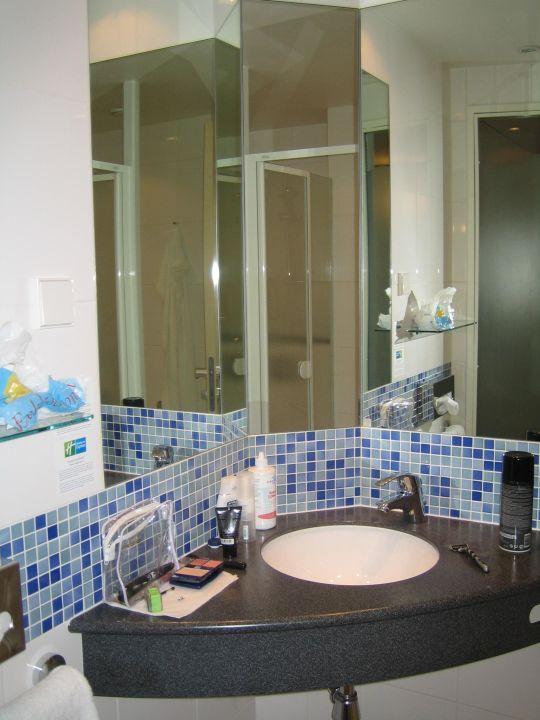 Blick ins Badezimmer\