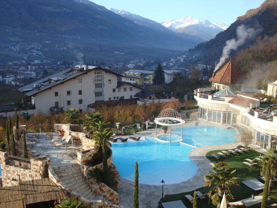 Ausblick vom Balkon Luxury DolceVita Resort Preidlhof