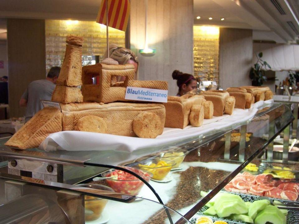 Lok aus brot zur dekoration hipotels mediterraneo sa for Dekoration spanien