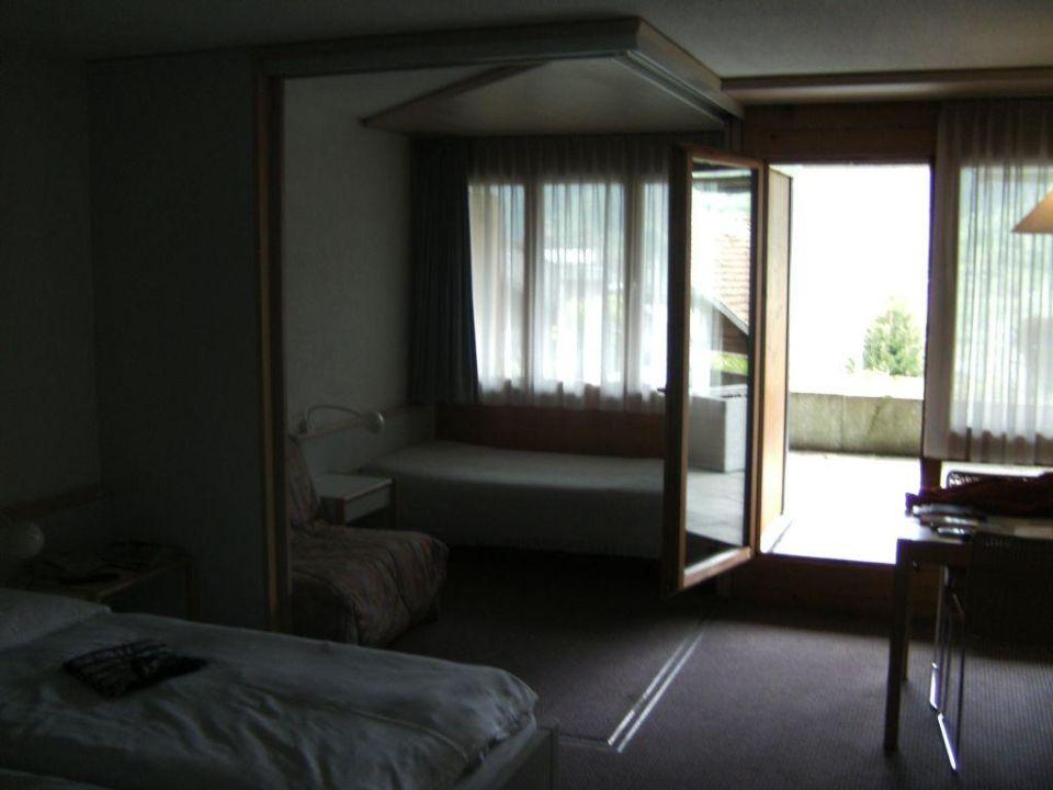 Hotelzimmeransicht Hotel Eigerblick