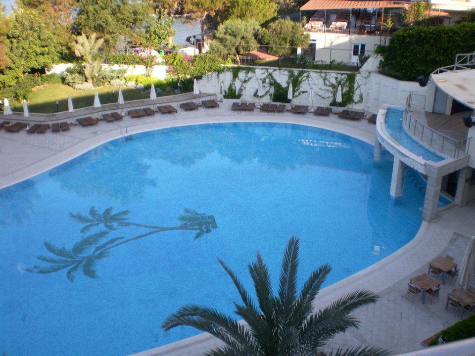 Von unserem Balkon aus geknipst Hotel Alara Star