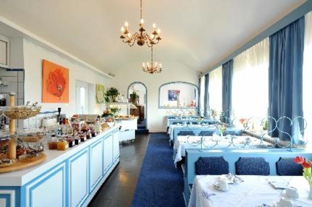 Frühstücksraum im Strandhotel Strandhotel Sylt