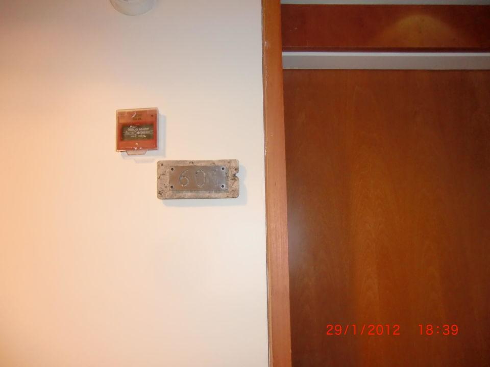 Blick von der Tür ins Zimmer Hotel Kibbutz Lavi