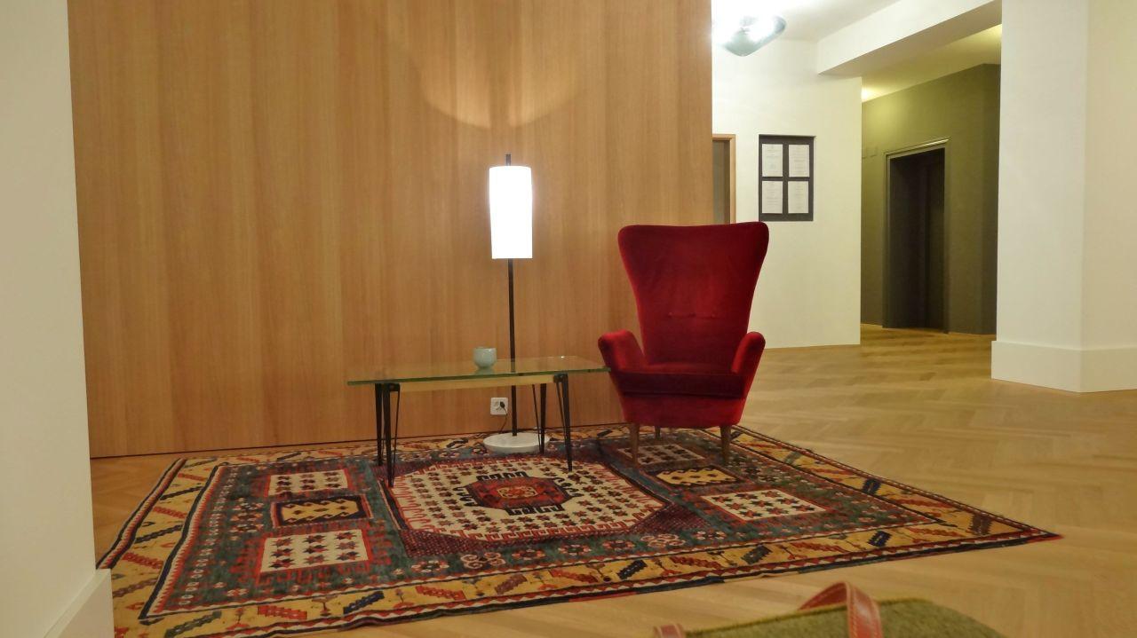 Sorgfältig Arrangierte Vintage Möbel In Der Halle Parkhotel