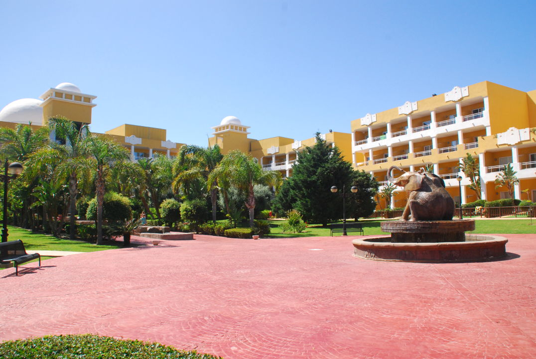 Gartenanlage Zimbali Playa Spa Hotel
