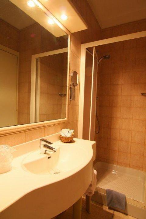 Bagno camere Hotel Piemonte