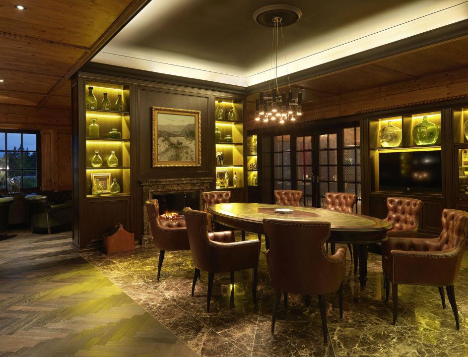 Smokers Lounge Interalpen Hotel Tyrol Seefeld Holidaycheck