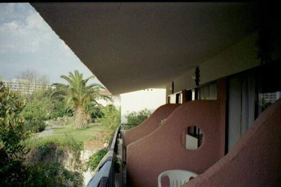 Blick vom Balkon Hotel Macedonian Sun