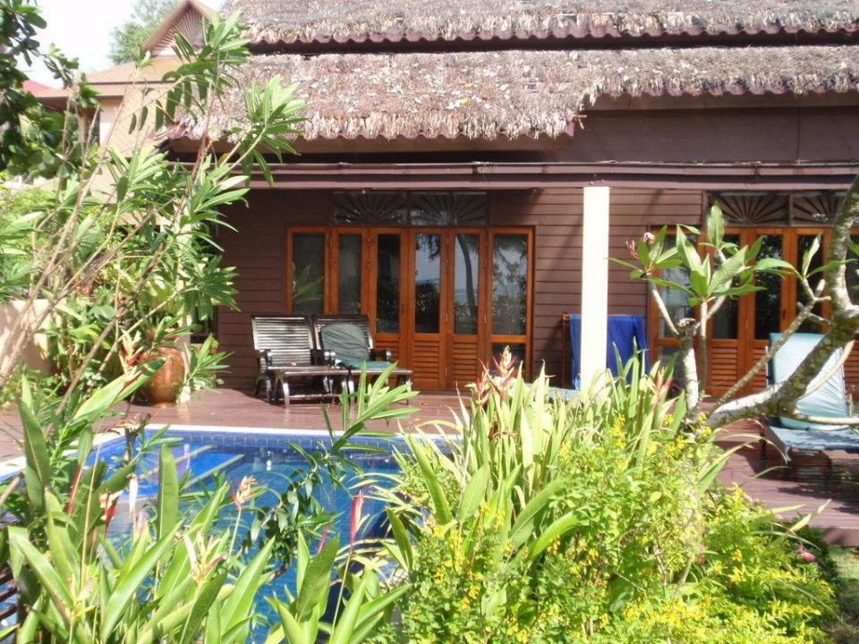 One bed room beachfront Villa Khao Lak Merlin Resort