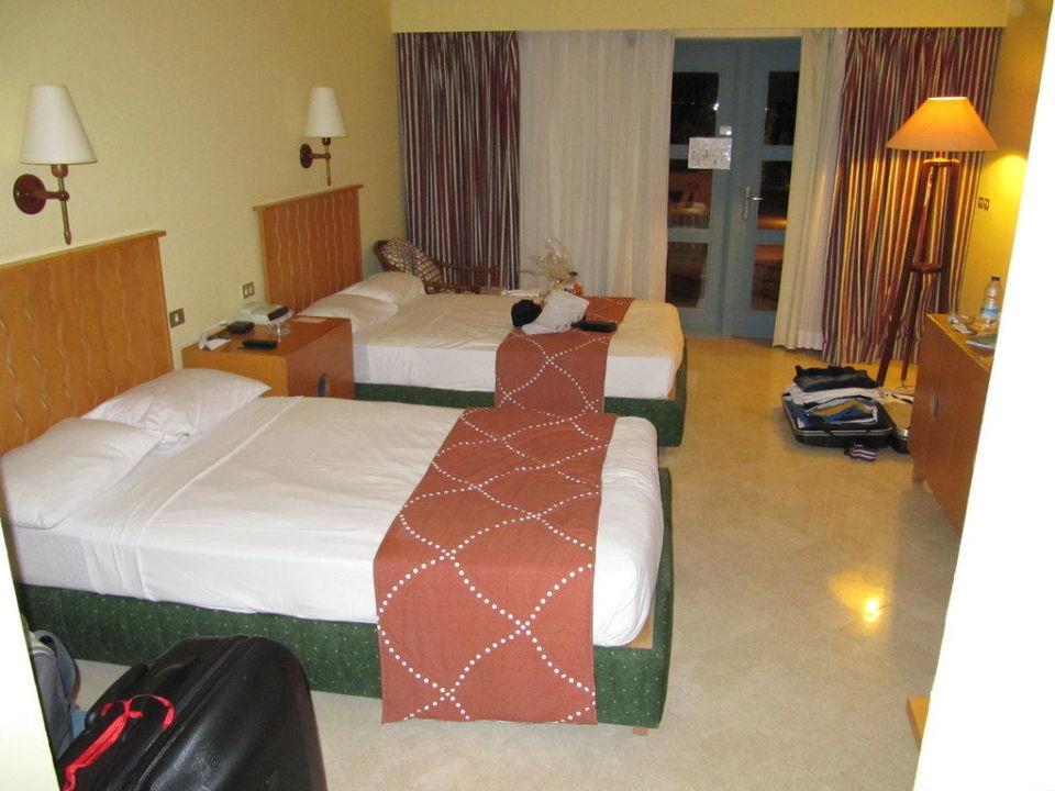 Zimmer bei Ankunft Steigenberger Golf Resort El Gouna