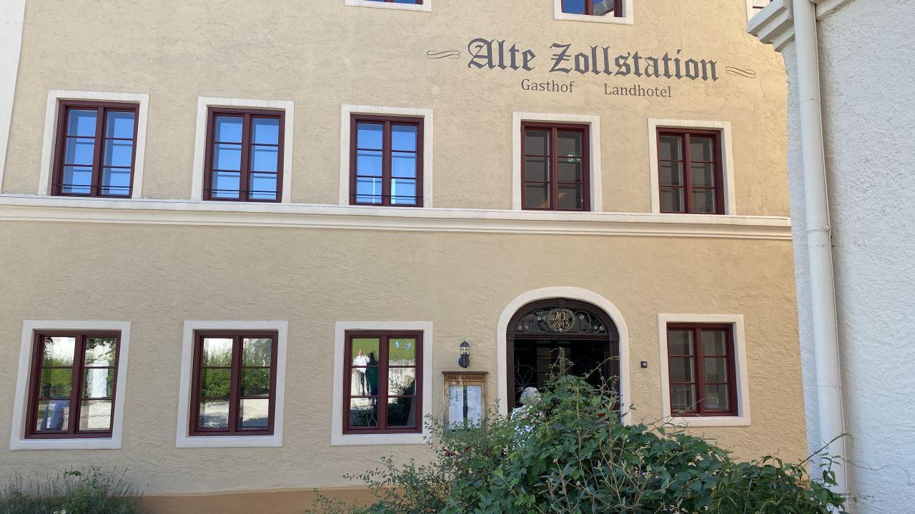 Außenansicht Gasthof Landhotel Alte Zollstation