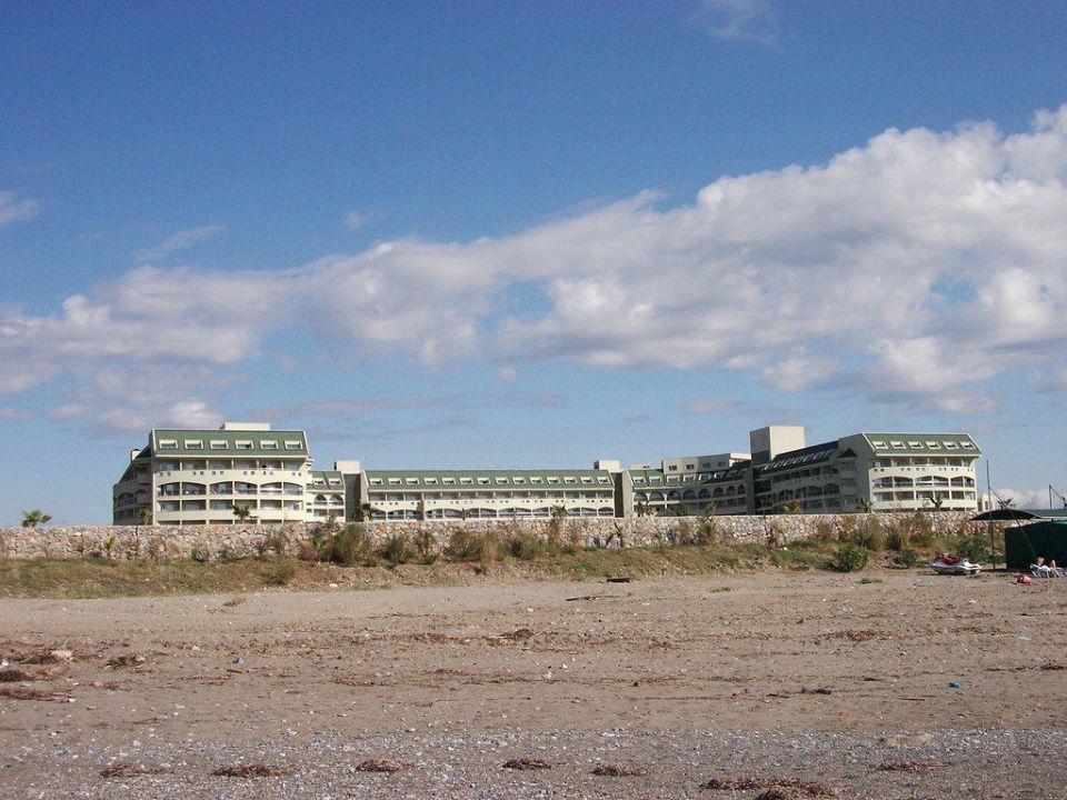 Hotel vom Strand aus Amelia Beach Resort Hotel & Spa