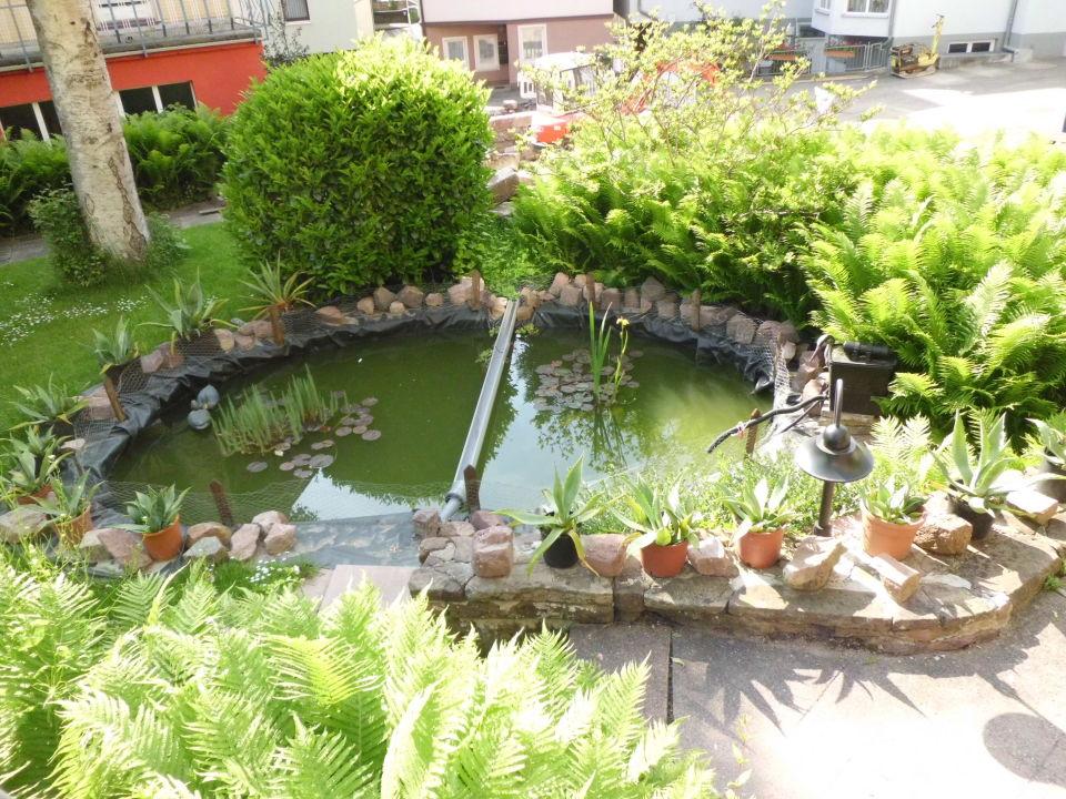 Kleiner Teich im Garten\