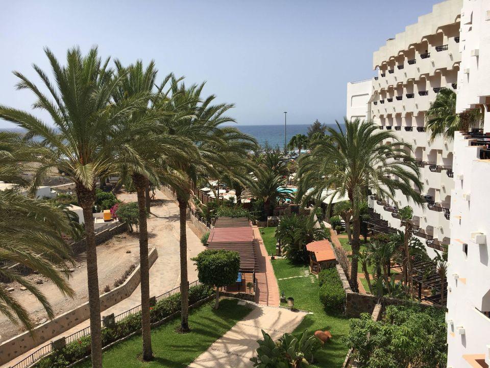 Blick bis zum Meer, vom Balkon Hapimag San Agustín