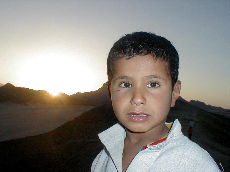 Beduinen Junge Siva Grand Beach