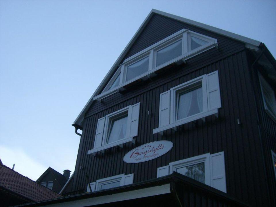 Das Haus von außen Bergidylle Harz - Suites
