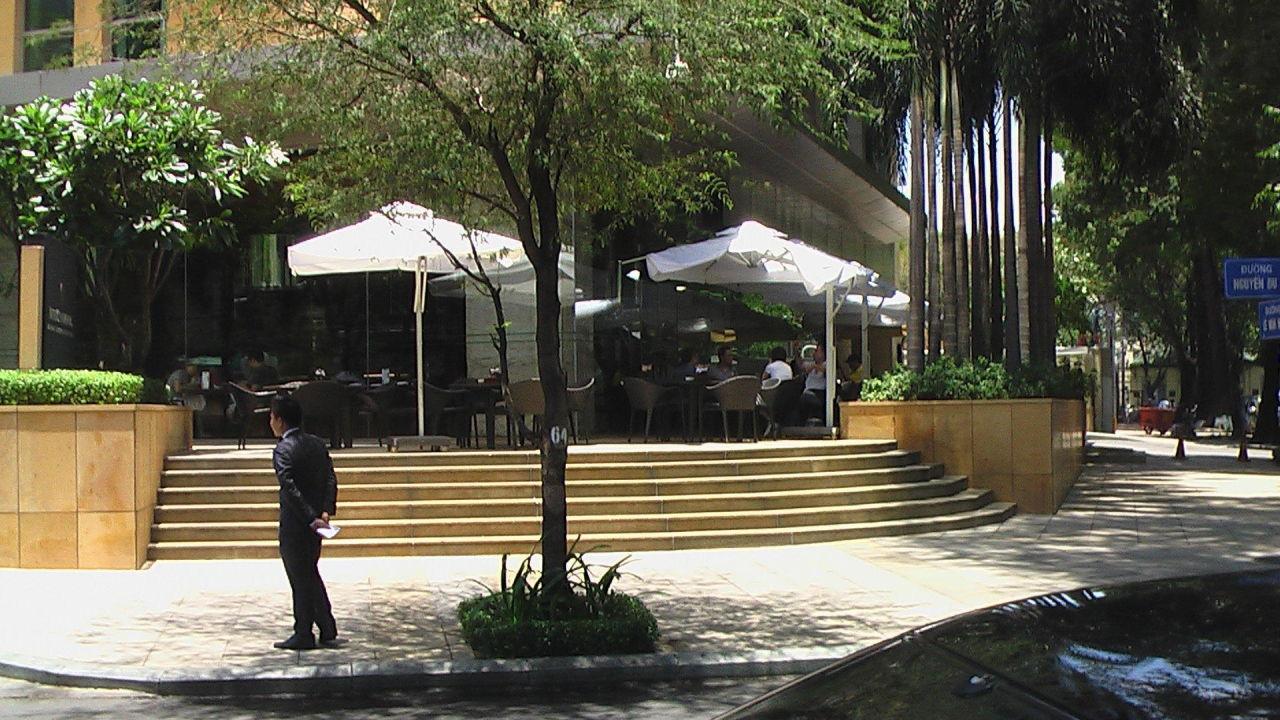 Schönes Ambiete Hotel Intercontinental Asiana Saigon