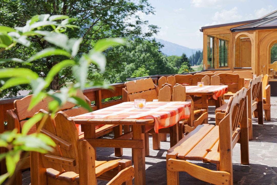Terrasse Hotel Berghof