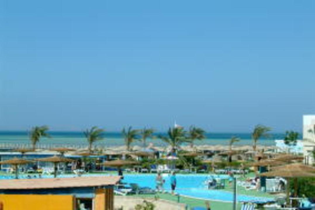 Blick vom Zimmer zum Meer Movie Gate Golden Beach Hurghada