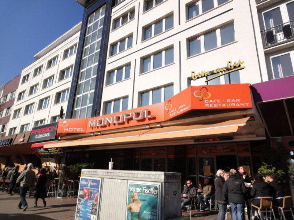 Hotel monopol auf der reeperbahn cityhotel monopol for Hotel reeperbahn