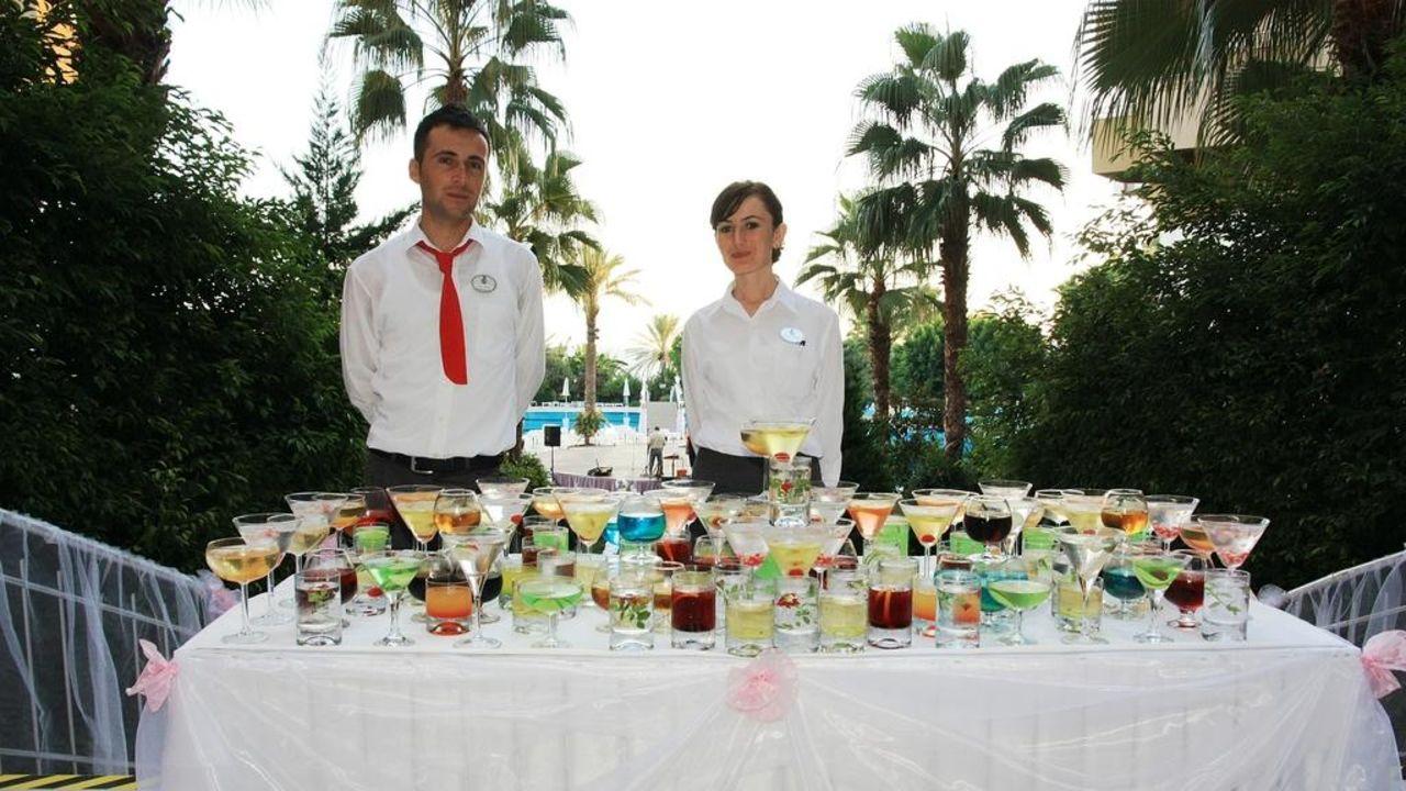 Galaabend Empfang Hotel Terrace Beach Resort