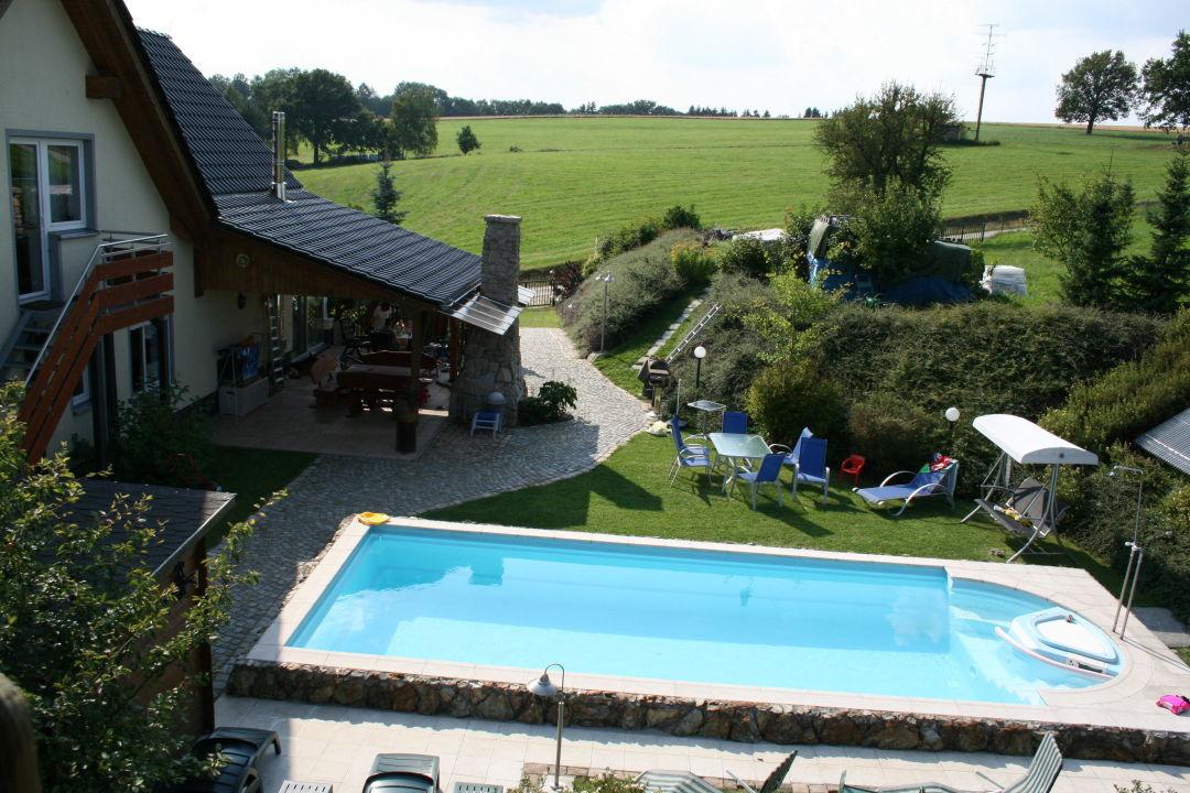 """pool, garten und terrasse """" ferienwohnung zahor (geschlossen) in, Garten Ideen"""