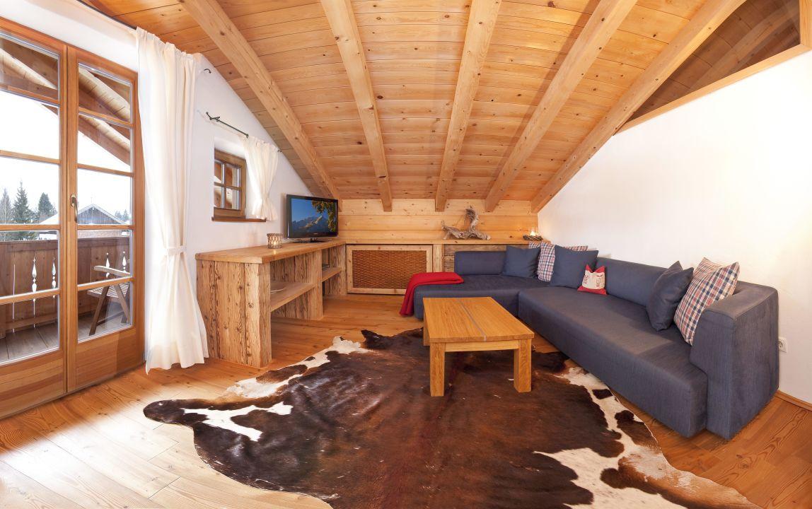 bild schlafzimmer zu landhaus b rnbichl in kr n. Black Bedroom Furniture Sets. Home Design Ideas