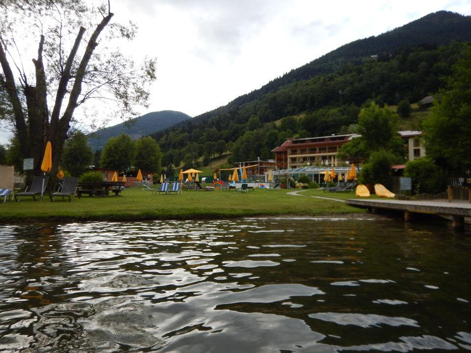 Außenansicht Hotel Brennseehof