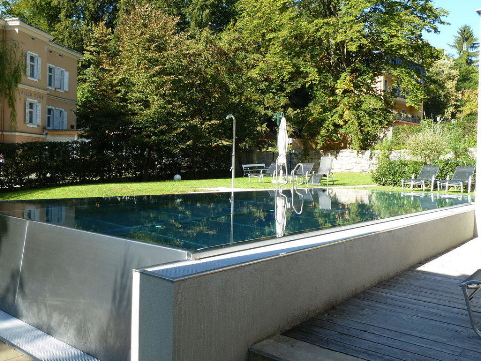 pool mit gegenstromanlage gartenhotel gleichenberger hof bad gleichenberg holidaycheck. Black Bedroom Furniture Sets. Home Design Ideas