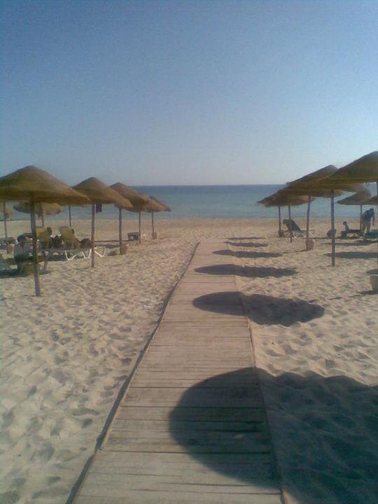 Zm schönen Strand Jerba Sun Club