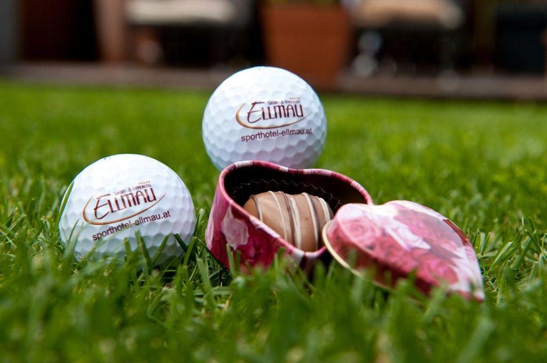 Auch Golfer haben bei uns gut lachen Hotel Alpin Juwel